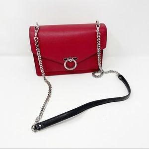 Rebecca Minkoff Red Large Jean Crossbody Bag Purse